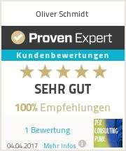 Erfahrungen & Bewertungen zu Oliver Schmidt