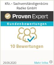 Erfahrungen & Bewertungen zu Kfz.- Sachverständigenbüro Radke GmbH