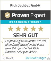 Erfahrungen & Bewertungen zu Pilch Dachbau GmbH