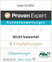 Erfahrungen & Bewertungen zu Uwe Knöfel