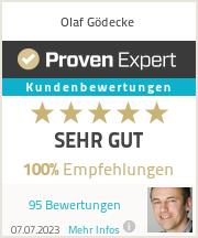 Erfahrungen & Bewertungen zu Olaf Gödecke