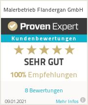 Erfahrungen & Bewertungen zu Malerbetrieb Flandergan GmbH