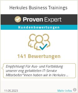 Erfahrungen & Bewertungen zu Herkules Business Trainings