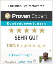 Erfahrungen & Bewertungen zu Christian Breitschwerdt