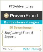 Erfahrungen & Bewertungen zu FTB-Adventures