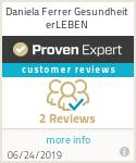 ProvenExpert-Profil von Daniela Ferrer Gesundheit erLEBEN anzeigen