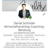 Daniel Schröder Wirtschaftstraining, Coaching und Beratung