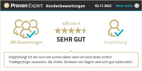 Erfahrungen & Bewertungen zu Kagels Trading GmbH anzeigen