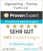 Erfahrungen & Bewertungen zu Digicoaching - Thomas Fuchs e.U.