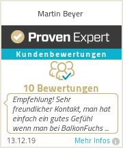 Erfahrungen & Bewertungen zu Martin Beyer