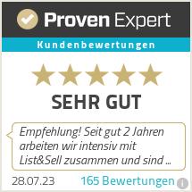 Erfahrungen & Bewertungen zu List & Sell GmbH