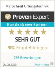 Erfahrungen & Bewertungen zu Marco Greif Ortungstechnik
