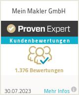 Erfahrungen & Bewertungen zu Mein Makler GmbH