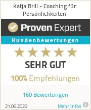 Erfahrungen & Bewertungen zu Katja Brill - Coaching für Persönlichkeiten