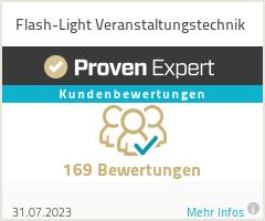 Erfahrungen & Bewertungen zu Flash-Light Veranstaltungstechnik