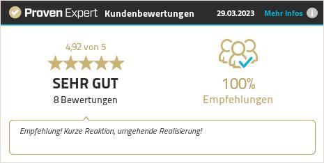 Kundenbewertungen & Erfahrungen zu Dersch oHG. Mehr Infos anzeigen.