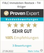 Erfahrungen & Bewertungen zu Till Krüger - Falc Immobilien Rostock