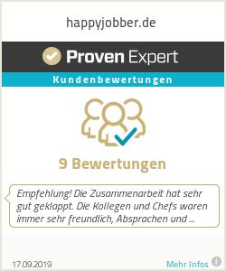 Erfahrungen & Bewertungen zu happyjobber.de