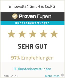 Erfahrungen & Bewertungen zu innowatt24 GmbH & Co.KG