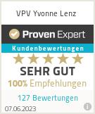 Erfahrungen & Bewertungen zu VPV Yvonne Lenz
