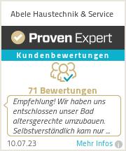 Erfahrungen & Bewertungen zu Abele GmbH