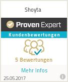 Erfahrungen & Bewertungen zu Shoyta
