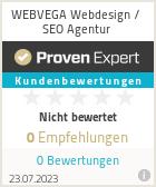 Erfahrungen & Bewertungen zu WEBVEGA Webdesign / SEO Agentur