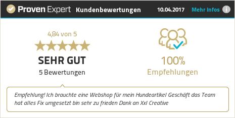 Erfahrungen & Bewertungen zu XXL Creative Performance GmbH anzeigen