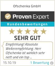 Erfahrungen & Bewertungen zu Ofschenka GmbH
