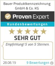 Erfahrungen & Bewertungen zu Bauer Produktkennzeichnung GmbH & Co. KG