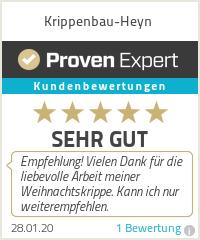 Erfahrungen & Bewertungen zu Krippenbau-Heyn