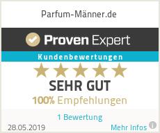 Erfahrungen & Bewertungen zu Parfum-Männer.de