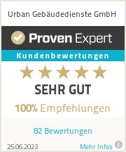 Erfahrungen & Bewertungen zu Urban Gebäudedienste GmbH