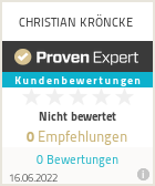 Erfahrungen & Bewertungen zu CHRISTIAN KRÖNCKE