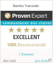 Ratings & reviews for Nantes Translate