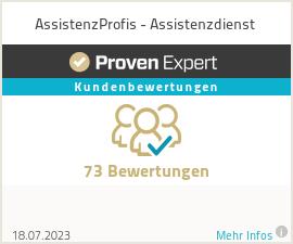 Erfahrungen & Bewertungen zu AssistenzProfis - Assistenzdienst