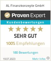 Erfahrungen & Bewertungen zu AL Finanzkonzepte GmbH