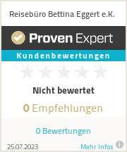 Erfahrungen & Bewertungen zu Reisebüro Bettina Eggert e.K.