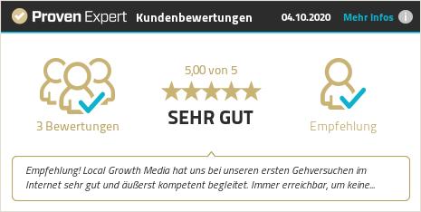 Kundenbewertungen & Erfahrungen zu Local Growth Media. Mehr Infos anzeigen.