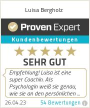Erfahrungen & Bewertungen zu Luisa Bergholz