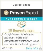 Erfahrungen & Bewertungen zu Liquido-direkt