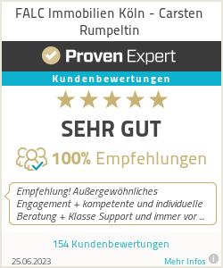 Erfahrungen & Bewertungen zu FALC Immobilien Köln - Carsten Rumpeltin