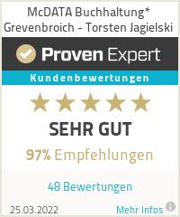 Erfahrungen & Bewertungen zu McDATA Buchhaltung* Grevenbroich - Torsten Jagielski