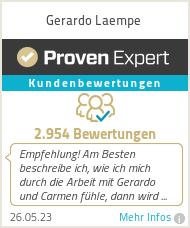 Erfahrungen & Bewertungen zu Gerardo Laempe