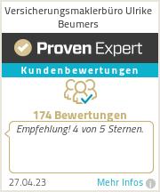Erfahrungen & Bewertungen zu Versicherungsmaklerbüro Ulrike Beumers