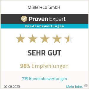 Erfahrungen & Bewertungen zu Müller+Co GmbH
