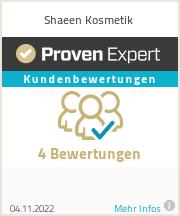 Erfahrungen & Bewertungen zu Shaeen Kosmetik