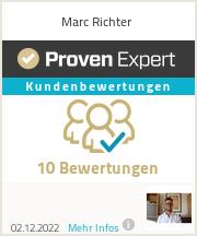 Erfahrungen & Bewertungen zu Marc Richter