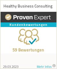 Erfahrungen & Bewertungen zu Healthy Business Consulting