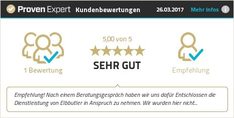 Erfahrungen & Bewertungen zu ELBBUTLER Hamburg anzeigen